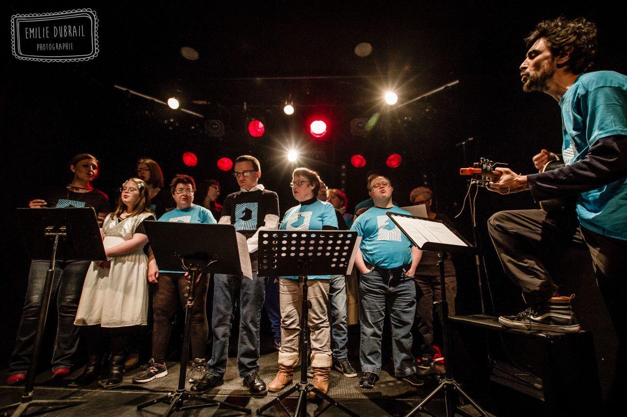 Une Chorale Musiques Actuelles ©Emilie Dubrail